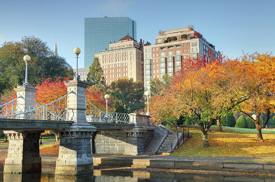 Autumn In Boston Photograph by Denistangneyjr
