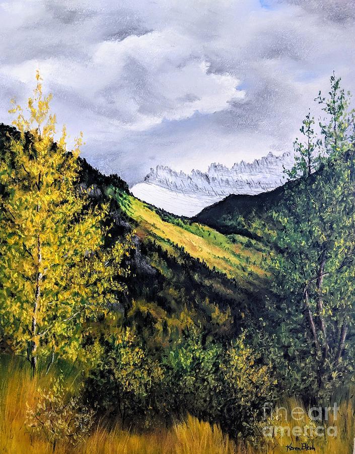 Autumn in Glacier Park by Karen Elkan