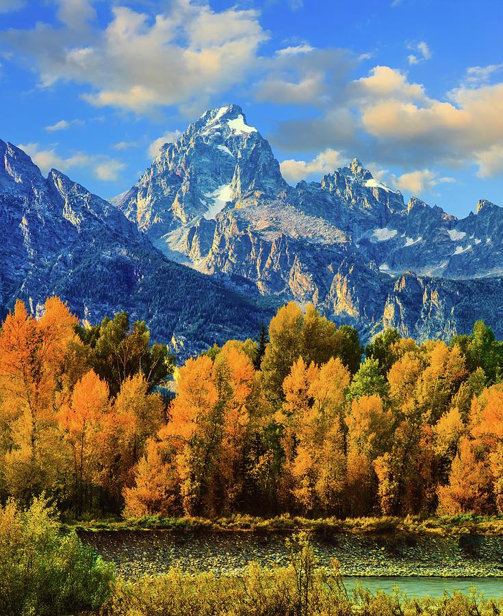 Autumn In Grand Teton Natoinal Park Photograph by Ron thomas
