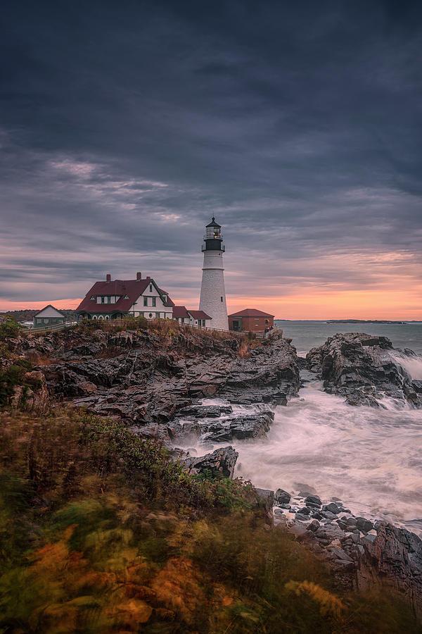 Autumn In Maine I by Robert Fawcett