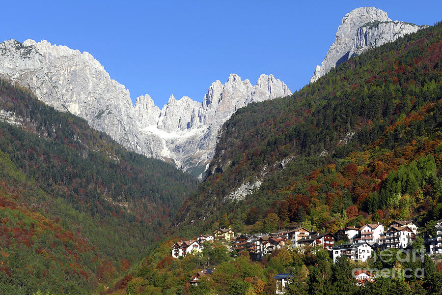 Autumn in Molveno by Phil Banks