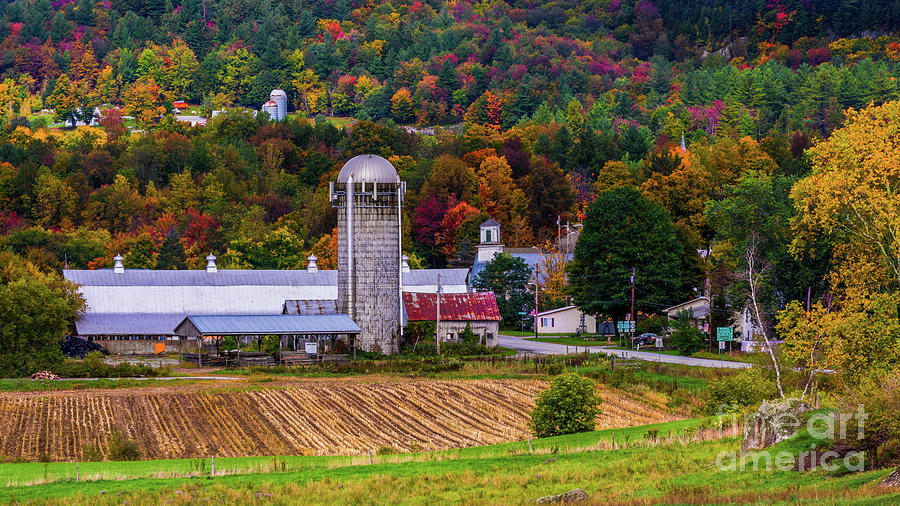 Autumn in Montgomery by Scenic Vermont Photography