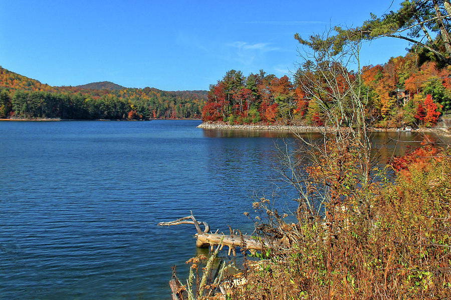 Lake Glenville Photograph - Autumn In North Carolina by HH Photography of Florida