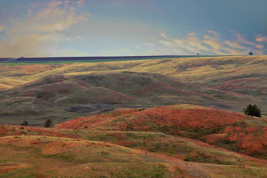 Autumn in South Dakota USA by Gerlinde Keating - Galleria GK Keating Associates Inc
