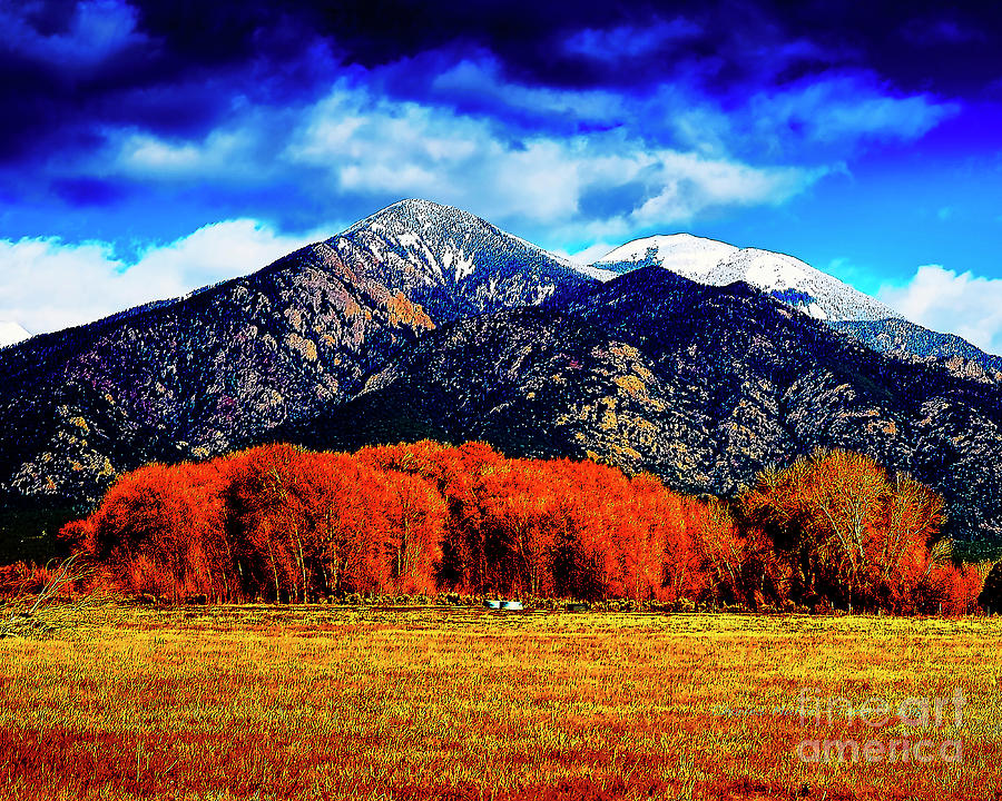 Autumn in Taos New Mexico by Charles Muhle