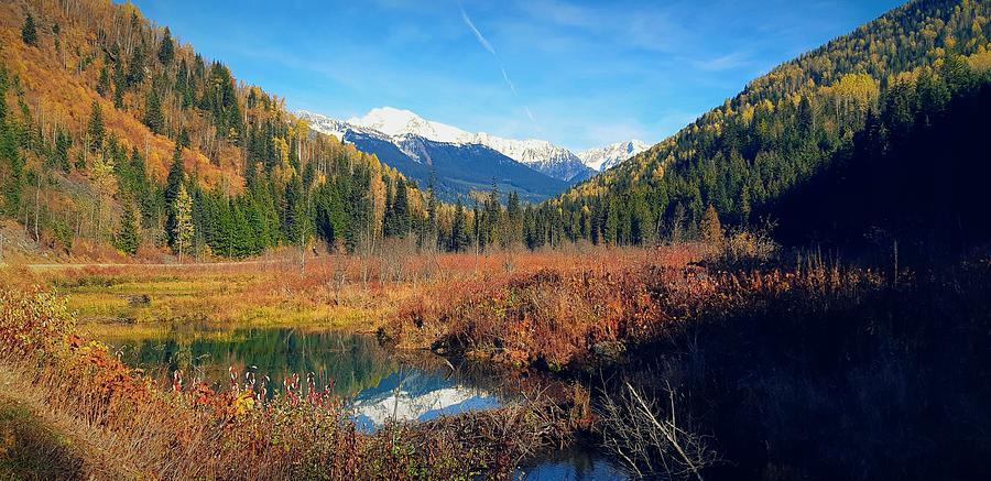 Autumn In The Kootenays by Max DeBeeson