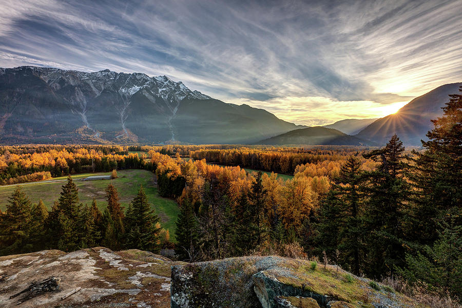 Autumn in the Valley of Pemberton by Pierre Leclerc Photography
