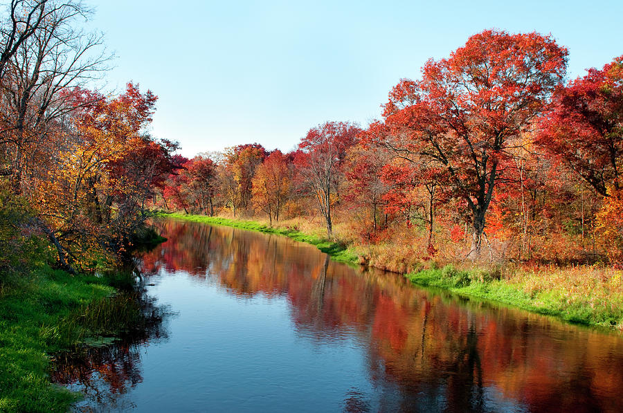 Autumn In Wisconsin Photograph by Jenniferphotographyimaging