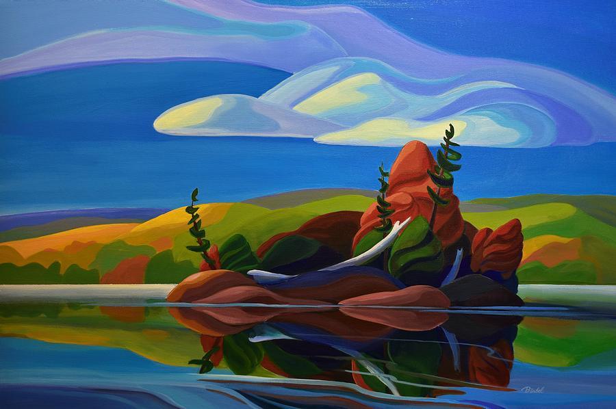 Autumn Island by Barbel Smith