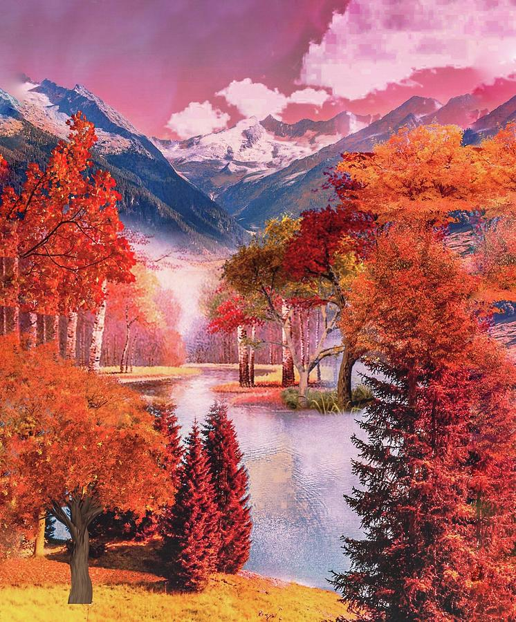 Autumn landscape 1 by AE collections