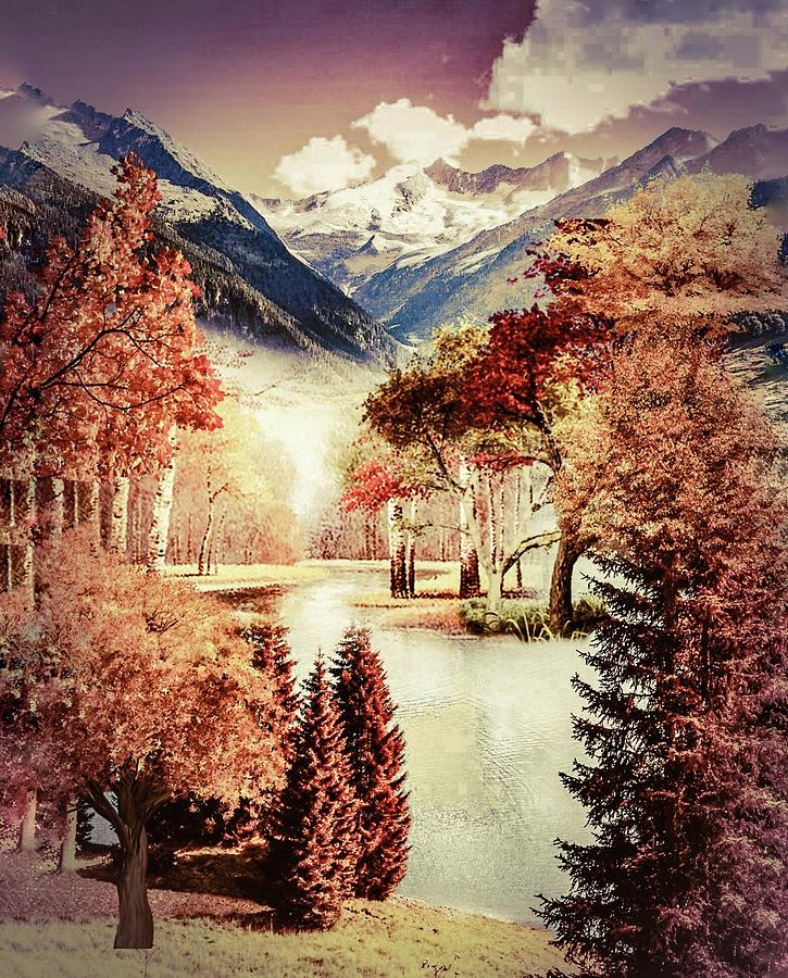 Autumn landscape 2 by AE collections