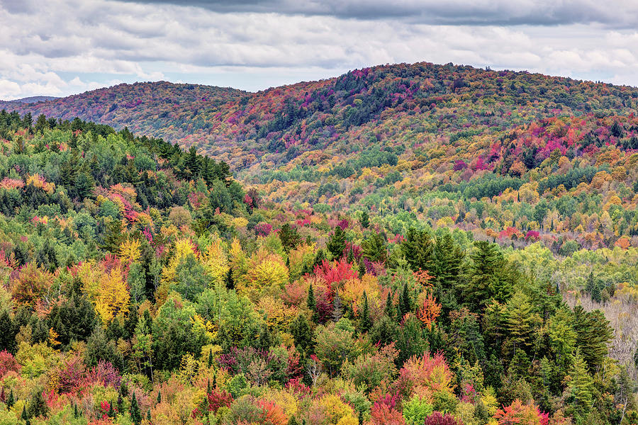 Autumn Landscape of the Eastern Townships by Pierre Leclerc Photography