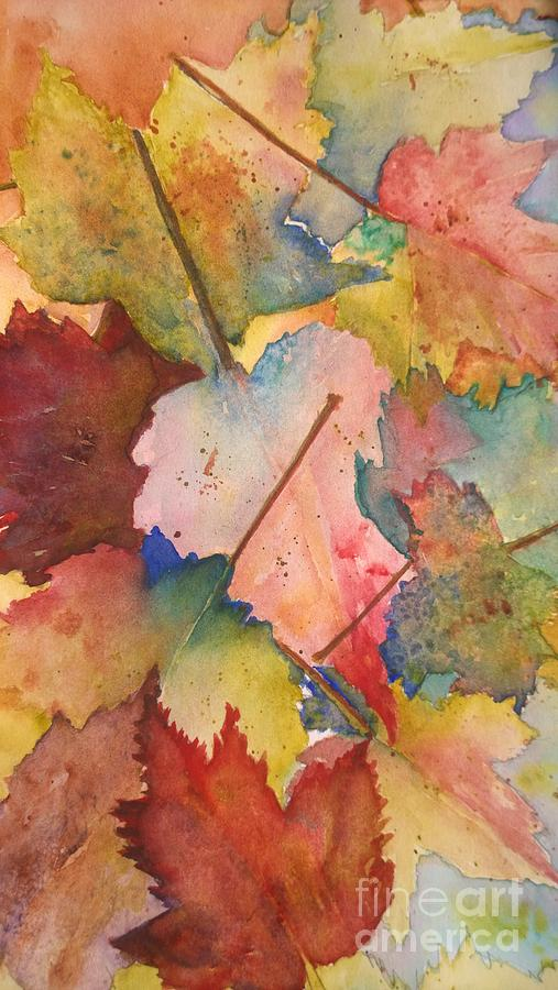 Autumn Leaves by Eunice Miller