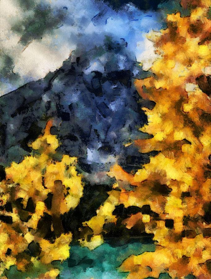 Autumn Leaves In Alberta by Dan Sproul