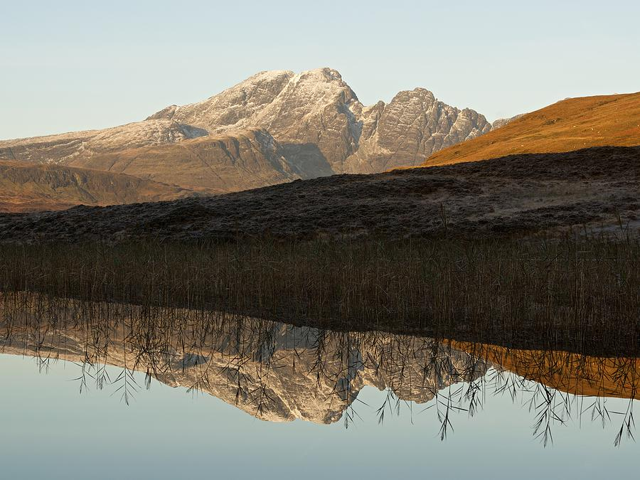 Autumn meets winter at Blaven by Stephen Taylor
