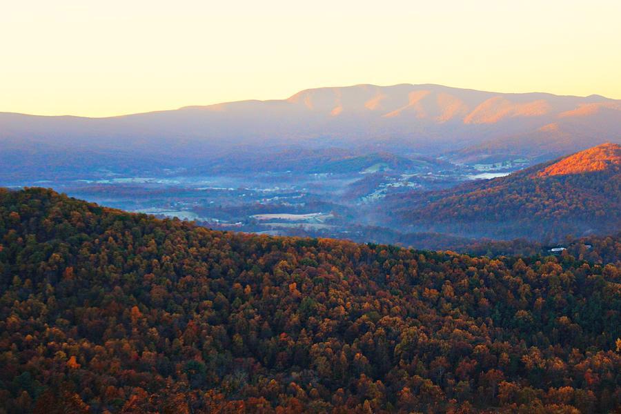 Autumn Photograph - Autumn Mountains  by Candice Trimble