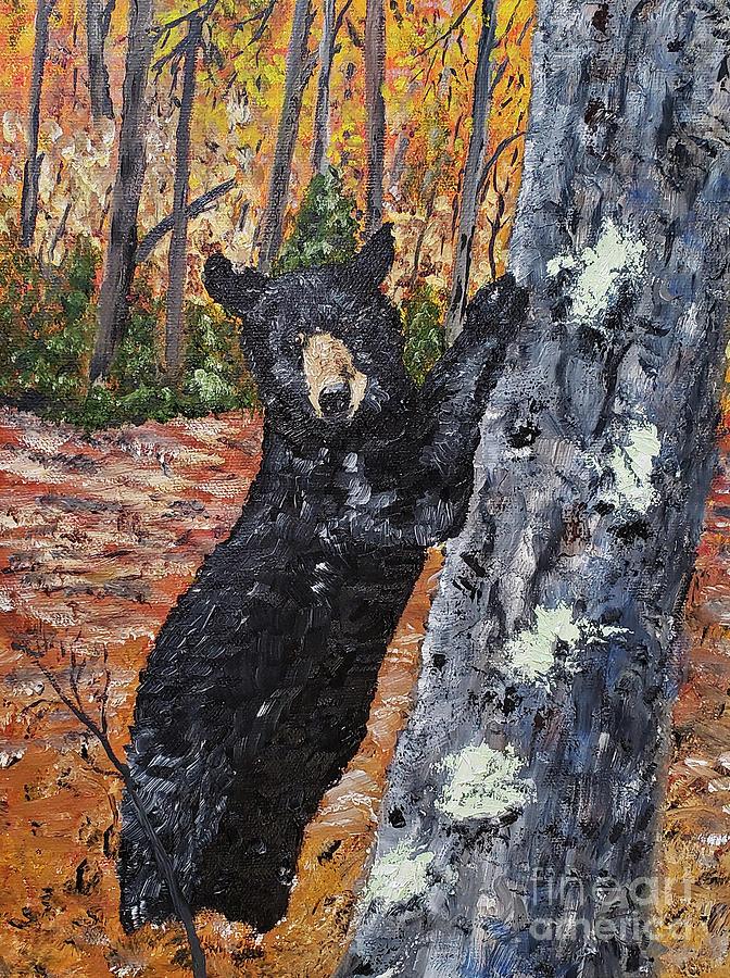 Autumn Mr. Bear by Stanton Allaben