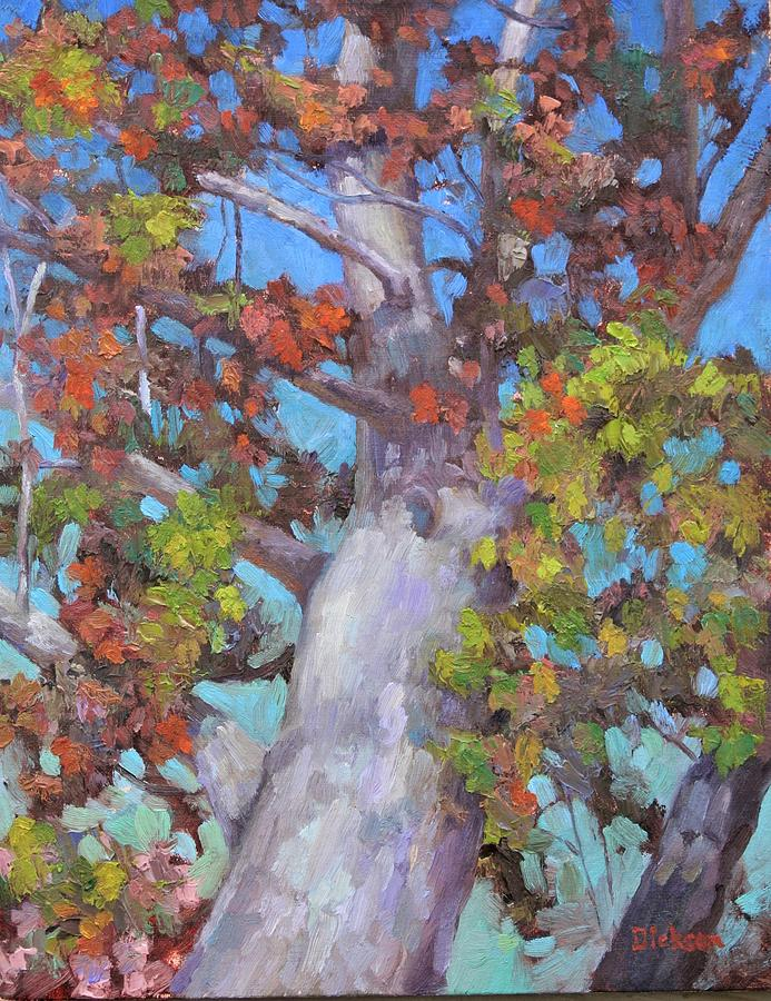 Autumn Oak by Jeff Dickson