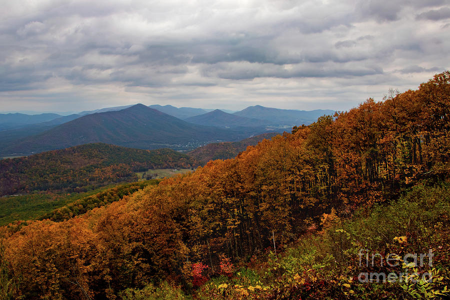 Autumn on the Blue Ridge Parkway by Norma Brandsberg