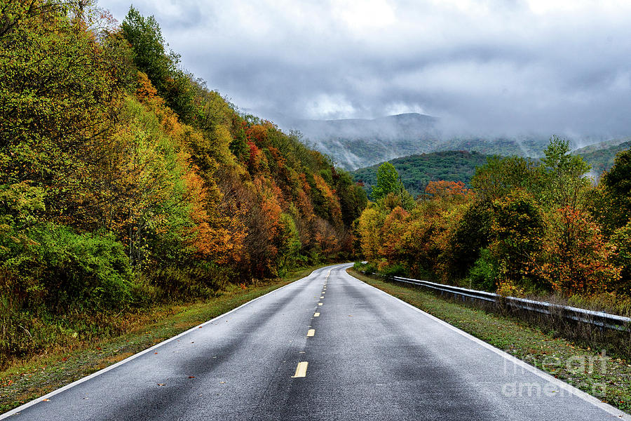 Autumn on the Highland Scenic Highway by Thomas R Fletcher