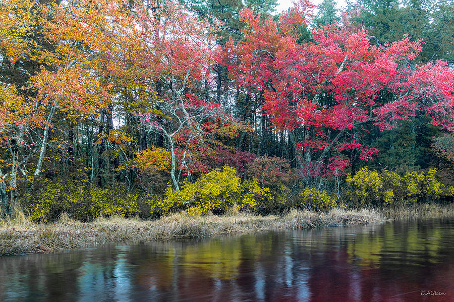 Autumn on the River by Charles Aitken