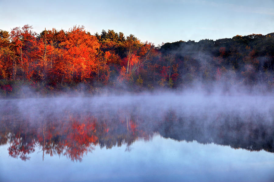 Autumn On Turtle Pond In Bostons West Photograph by Denistangneyjr