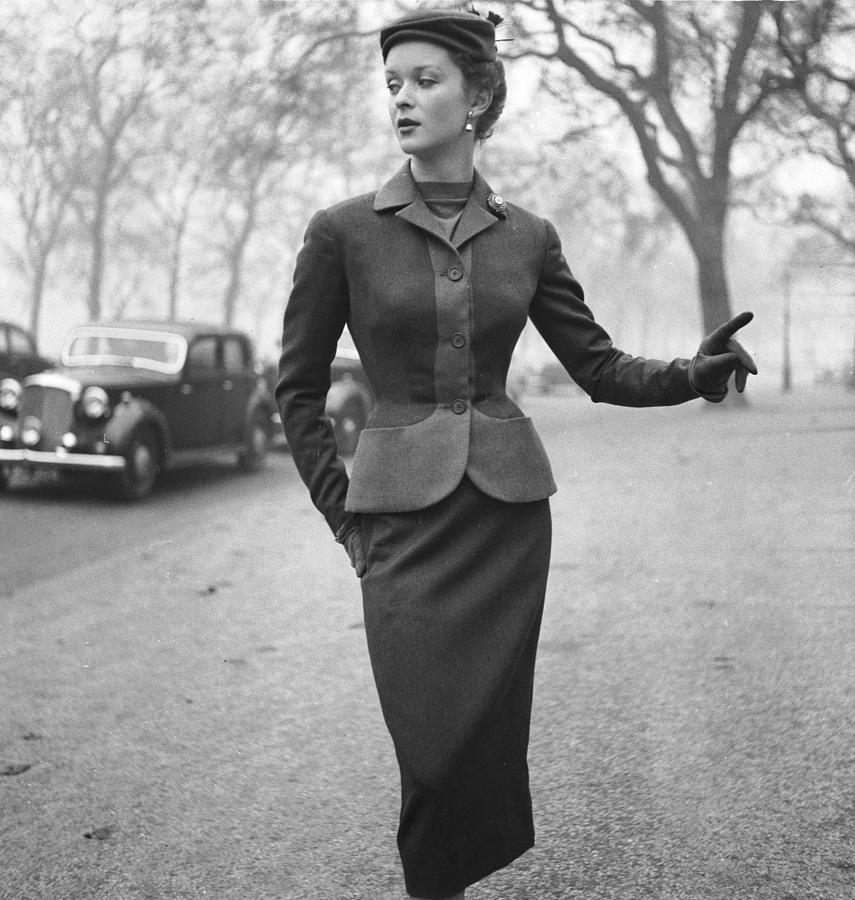 Autumn Outfit Photograph by Chaloner Woods