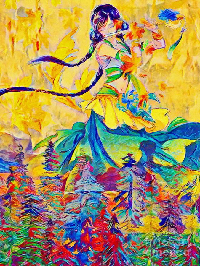 Autumn - Painted Poetry by Olga Hamilton