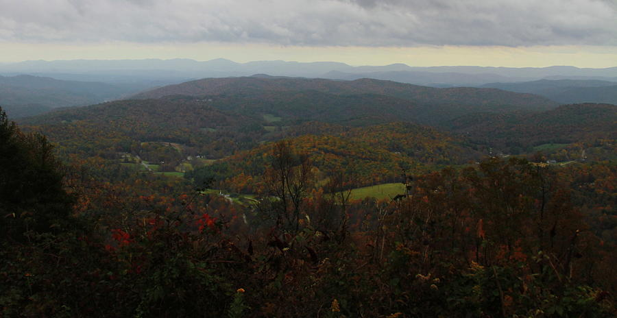 Autumn Parkway View 10 Photograph