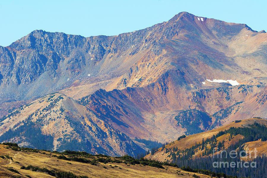 Autumn Peaks on Trail Ridge Road by Steve Krull
