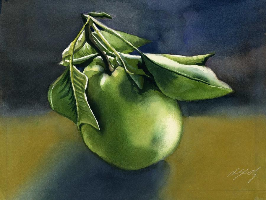 autumn pear by Alfred Ng