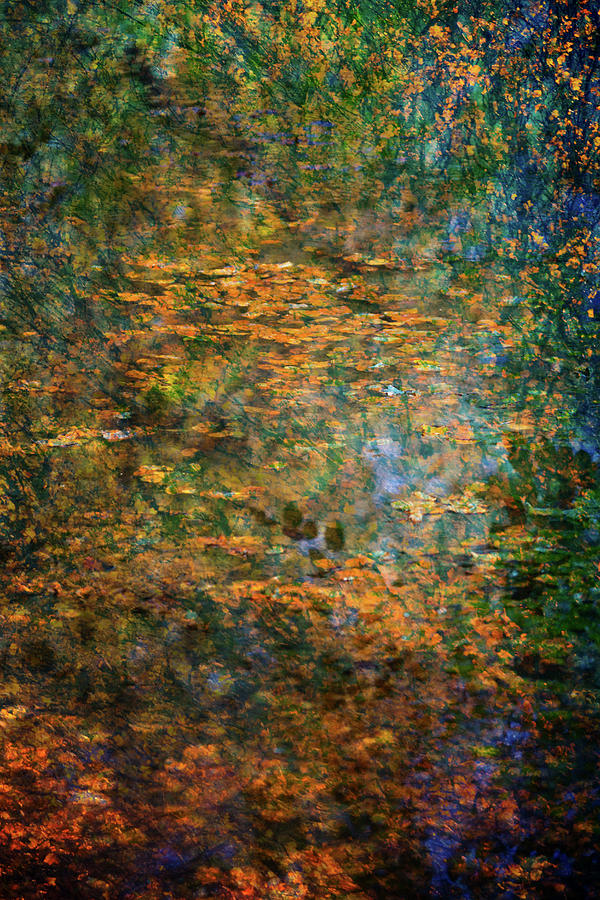 Autumn Reflections, after Monet by Anita Nicholson