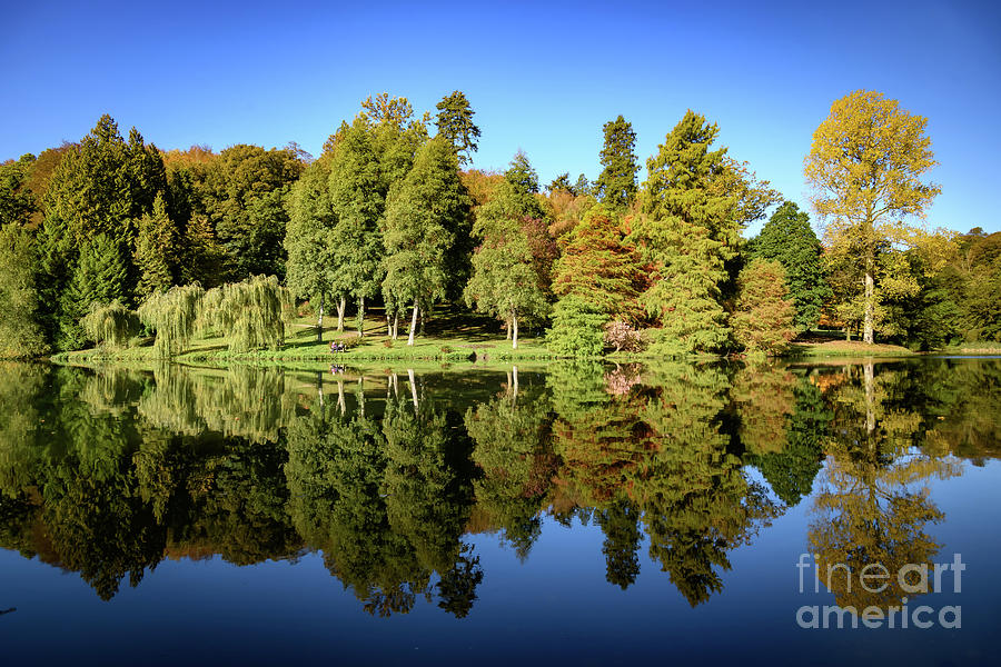 Autumn reflections by Colin Rayner