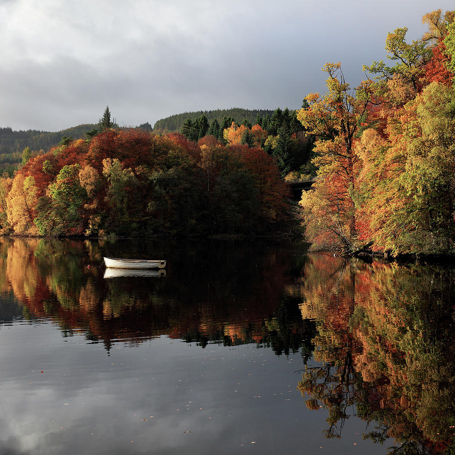 Autumn Reflections by Grant Glendinning