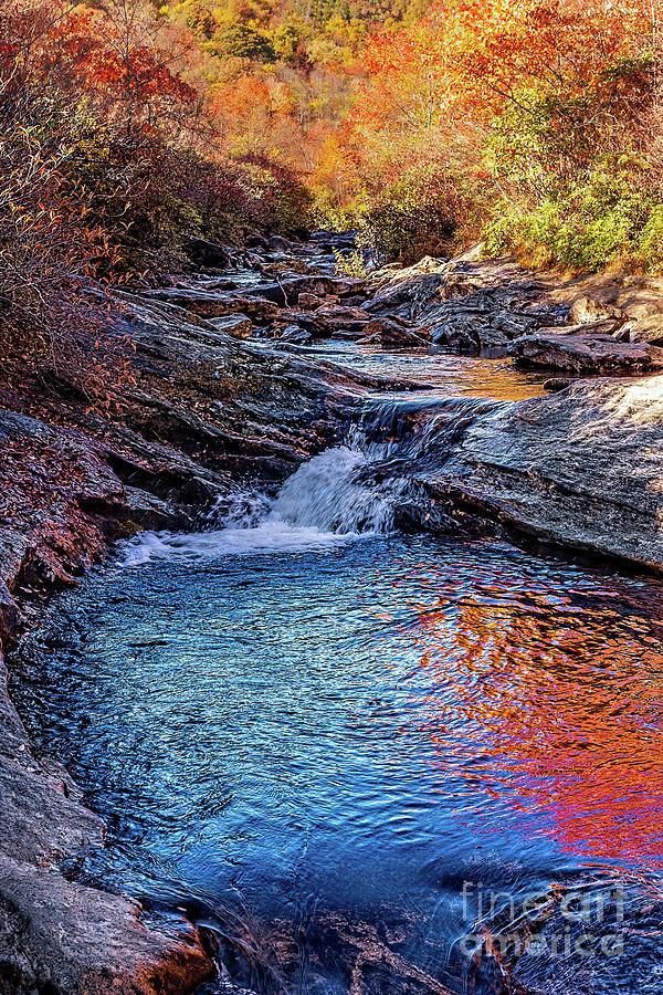 Autumn River by Dan Carmichael
