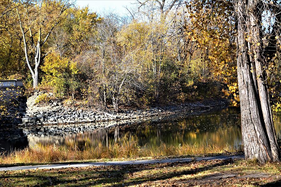 Autumn Scene In La Crosse, Wisconsin Photograph