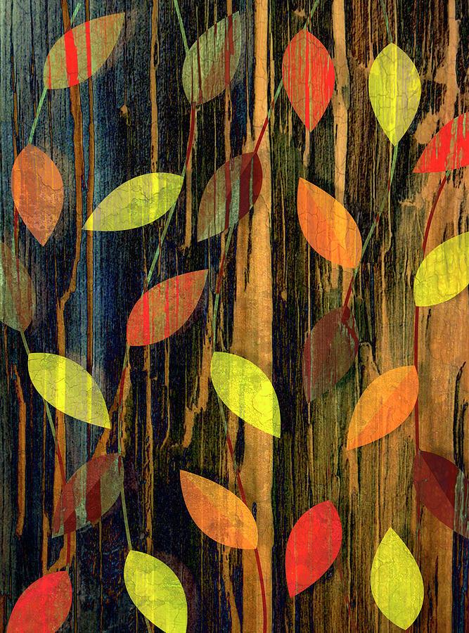 Autumn Season Leaves Digital Art by Jupiterimages