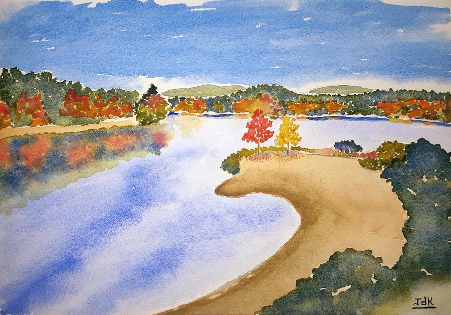 Autumn Shore Lore by John Klobucher