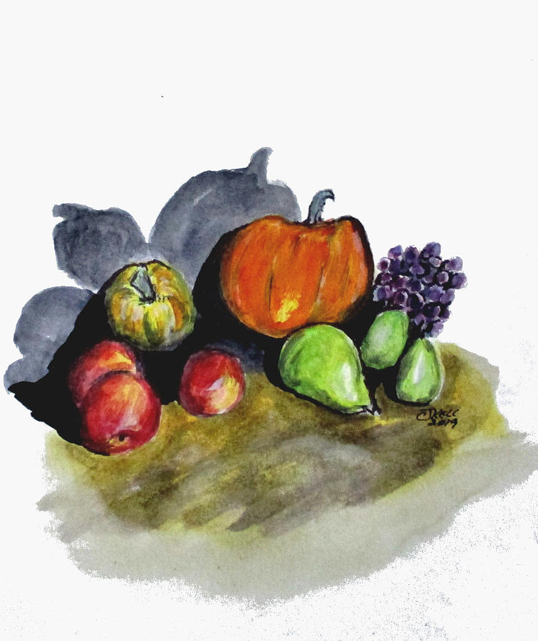 Autumn Still Life by Clyde J Kell