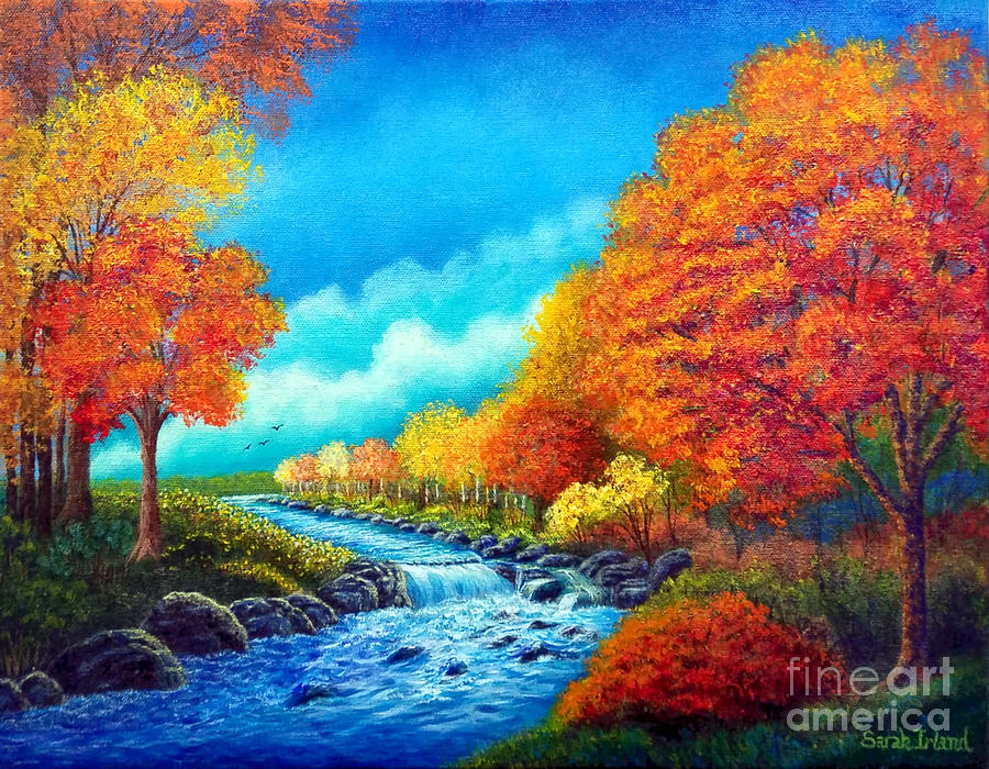 Autumn Stream by Sarah Irland