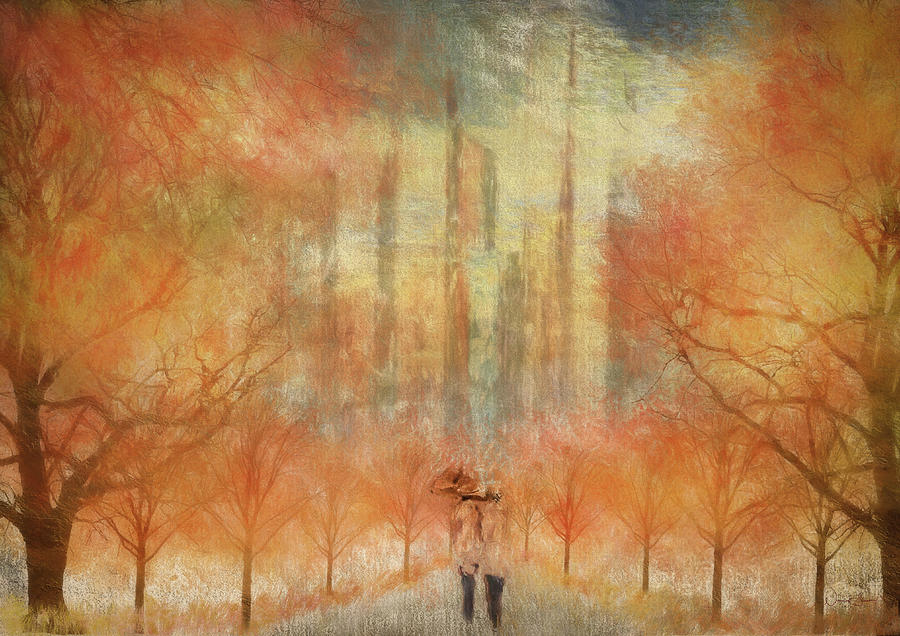 Autumn Stroll by Norma Slack