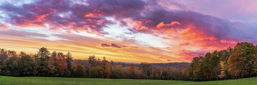 Autumn Sunrise by MIKE MCQUADE