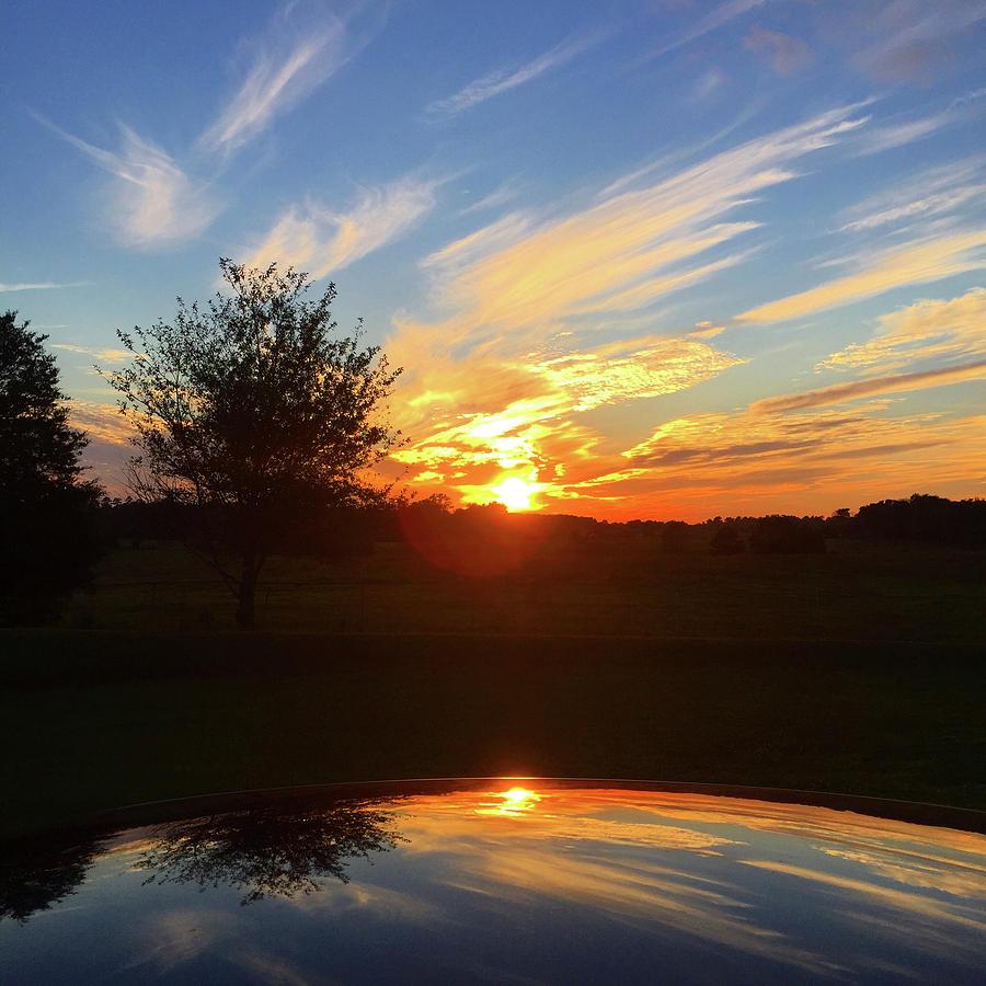 Autumn Photograph - Autumn Sunset by Matthew Seufer