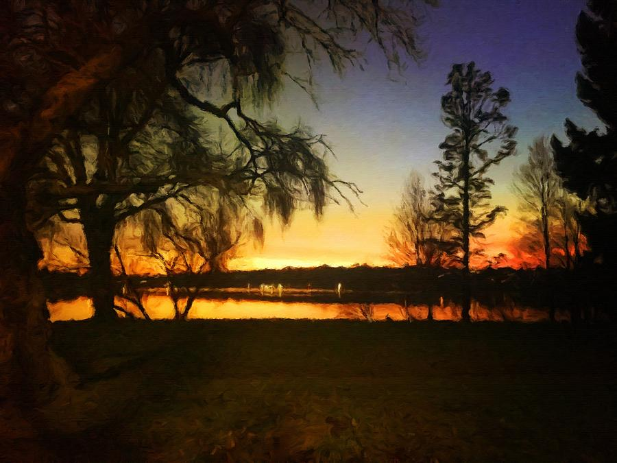 Autumn Sunset by Paisley O'Farrell