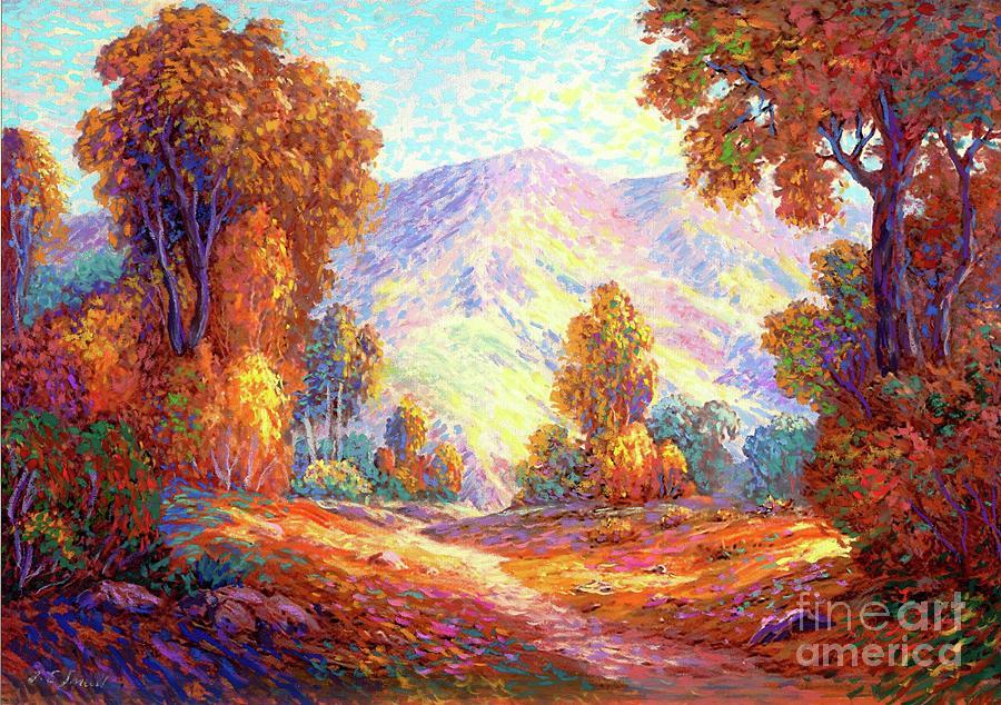Autumn Sunshine Painting