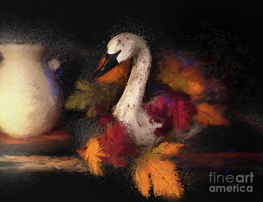 Autumn Swan by Lois Bryan