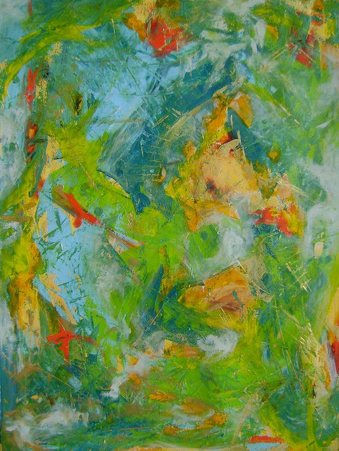 Autumn Symphony 1 Painting by Therese Legere