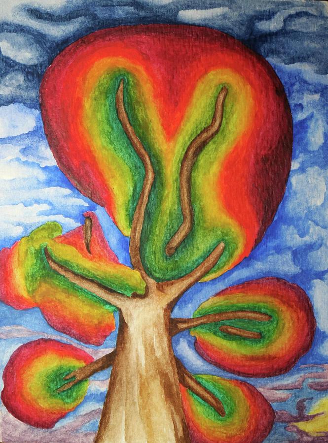 Autumn Tree 2019 I by Robert Morin