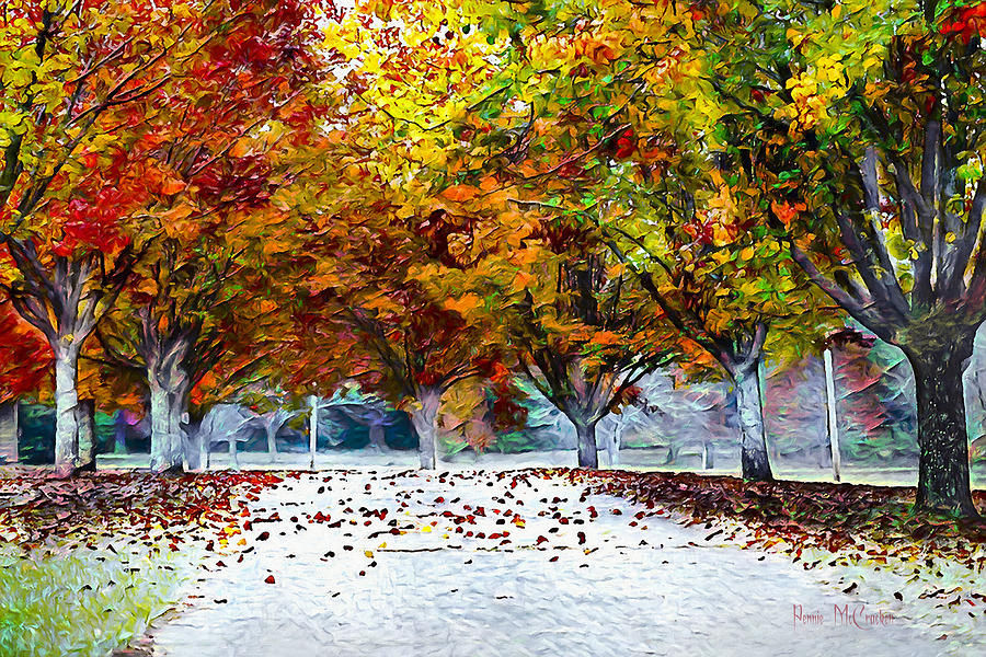 Autumn Trees by Pennie McCracken