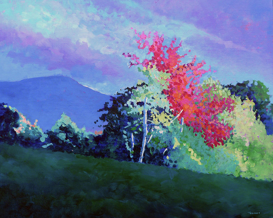 Autumn Vermont Light by Catherine Twomey